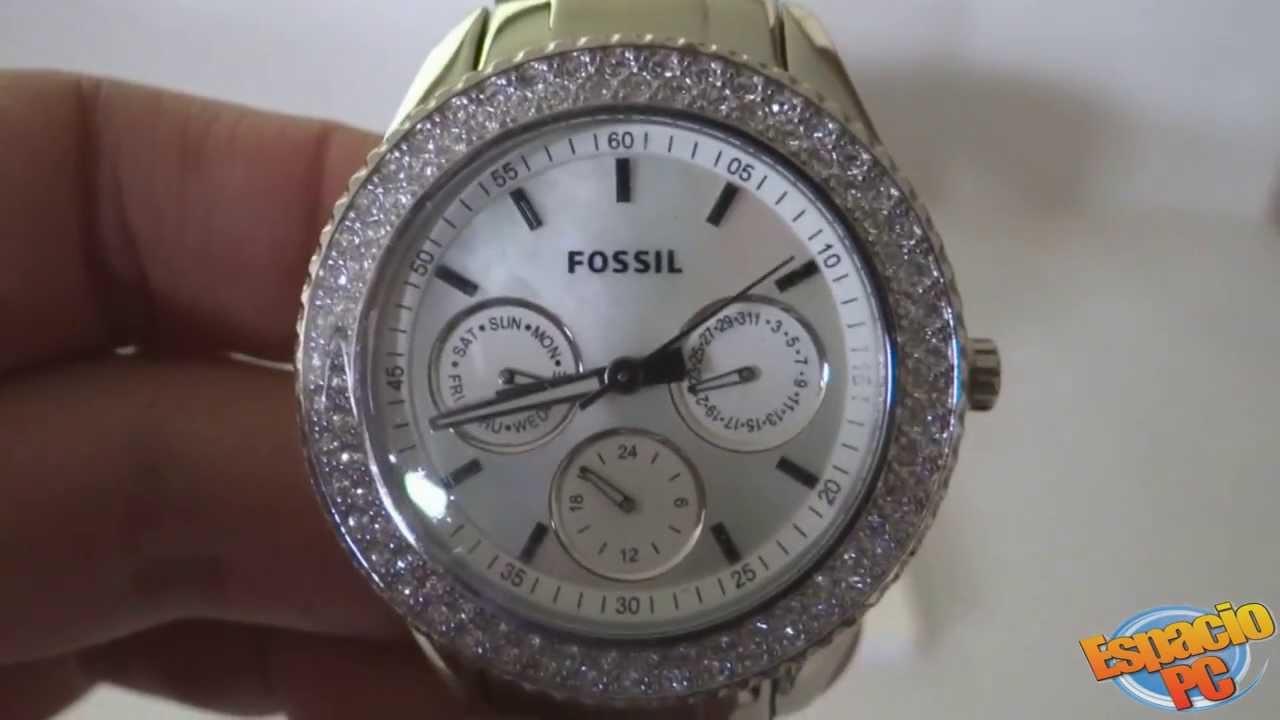 704b030dae39 Fossil ES2860 - Reloj Dama - YouTube