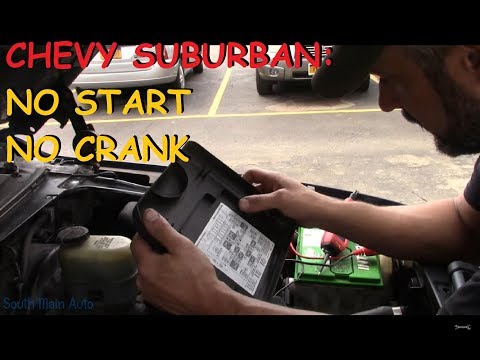 "Chevy Suburban: No Crank ""Special Case"""