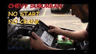 Chevy Suburban: No Crank