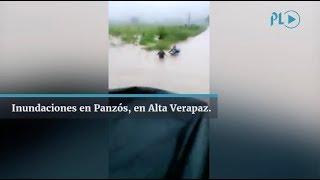 Inundaciones En Panzós, En Alta Verapaz | Prensa Libre