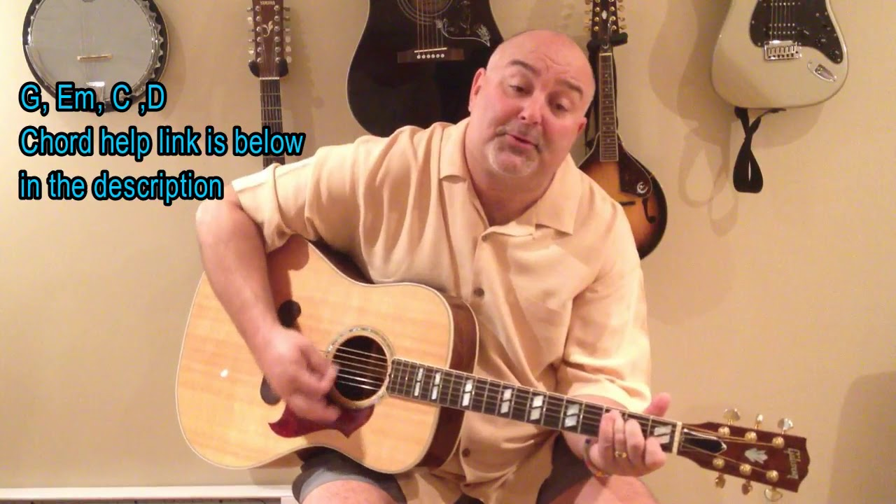 How To Play Earth Angel Penguins Cover Easy 4 Chord Tune Youtube