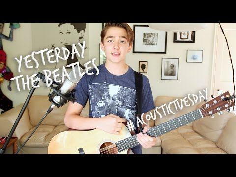 Yesterday - Beatles (Acoustic Cover by Ian Grey)