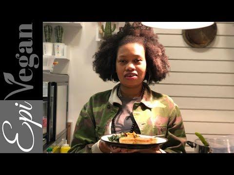 London Afro Vegan - Dumplins & Ackee