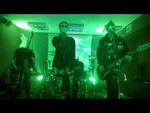 Totenwald - The sign - live @ Return To The Batcave, Wroclaw, Poland (HD)