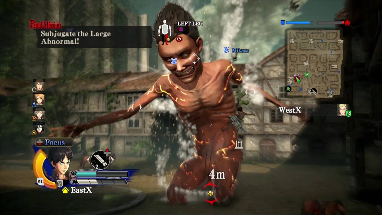 Attack on Titan Wings of Freedom Torrent Download - Huzefa ...