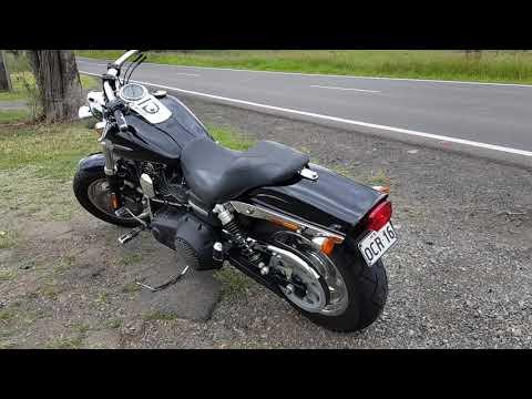 My first Harley - 2012 Fat Bob