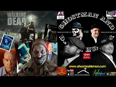 The Walking Dead/American Horror Story John Carroll Lynch & GhostMan&Demon Hunter