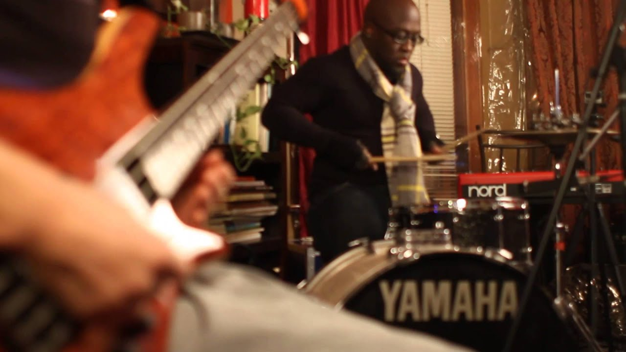 watch cody wright and chaisaray schenck drum bass groove live