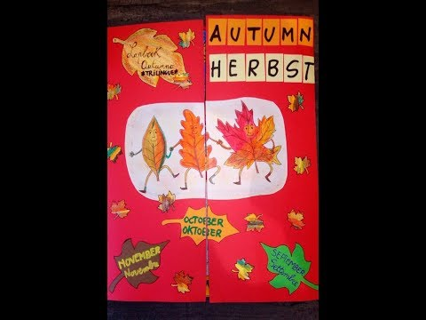 AUTUNNO (AUTUMN - HERBST) - Lapbook