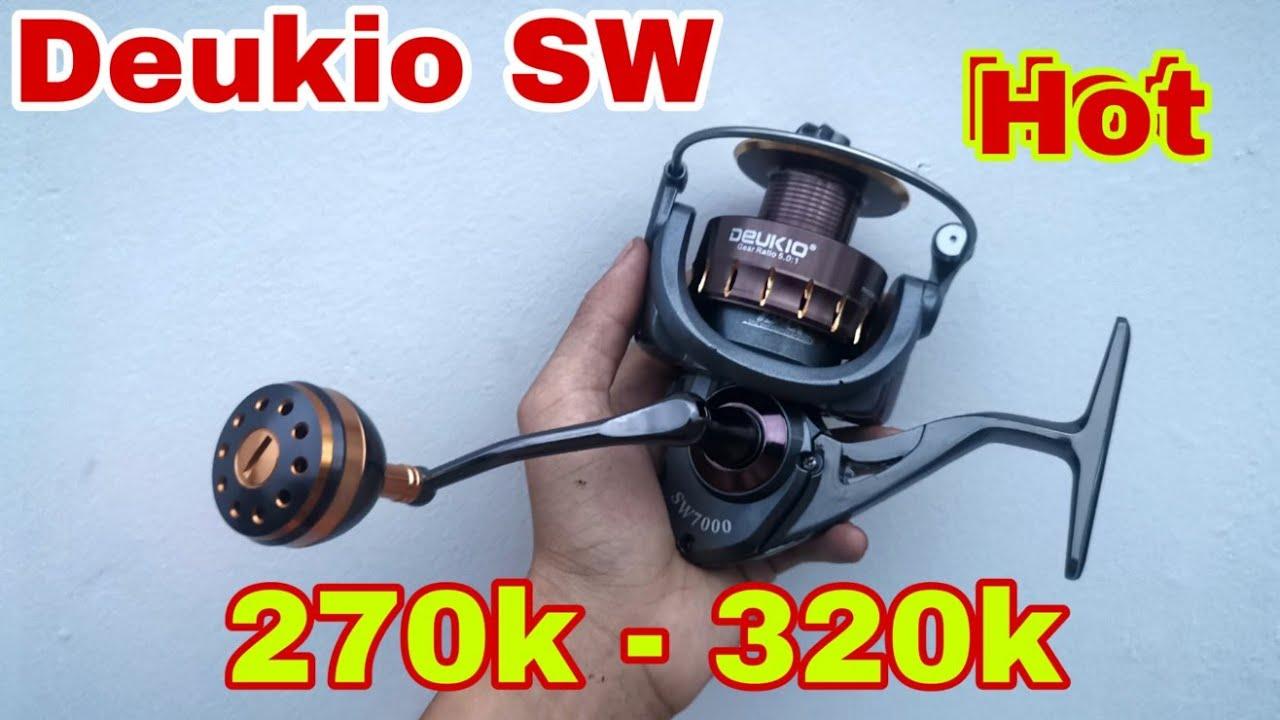 New!! Máy Câu Mới Chất Lượng Deukio SW 2000 Tới 7000 | Chất Lượng Giá Sinh Viên