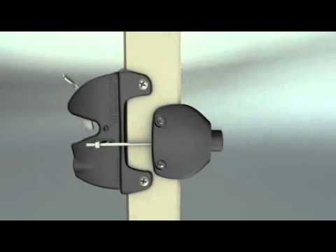 Lokk Latch Gate Series 2 With External Access Kit Installation Video