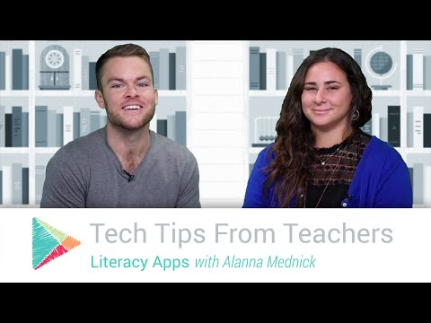 Tech Tips From Teachers: Literacy Apps
