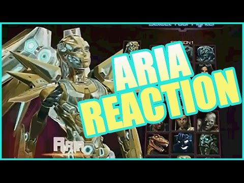 LOOK AT THEM HIPS!!! MY REACTION TO ARIA [KILLER INSTINCT:Season 2]