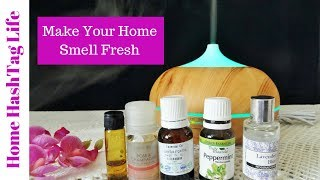 Gambar cover Make Your Home Smell Fresh | Essential Oil Diffuser - Review & Information | Home Hashtag Life
