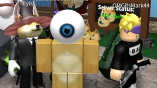 the ladder killed doge   roblox murder mystery 2 with eyiss major