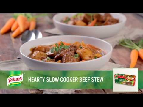 Hearty Slow Cooker Beef Stew   Knorr® Chef Chris