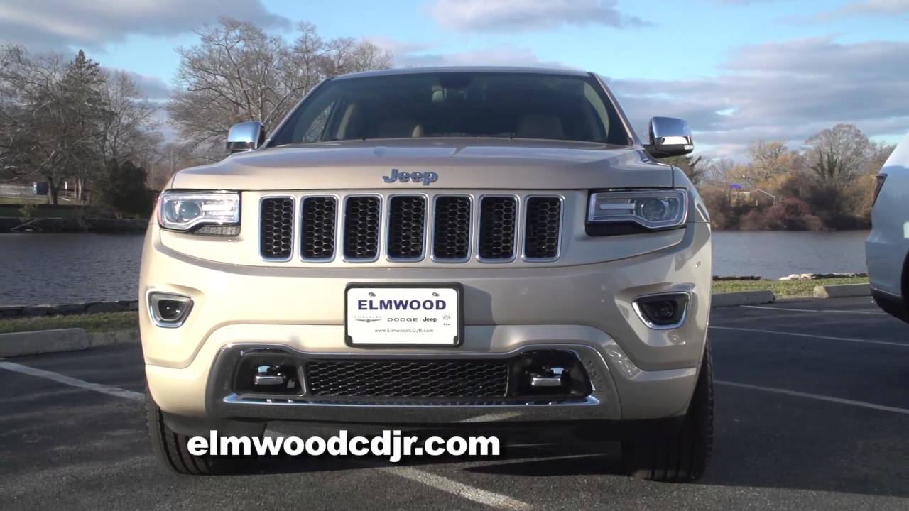 the jeep grand cherokee vs the dodge durango at elmwood auto group youtube. Black Bedroom Furniture Sets. Home Design Ideas