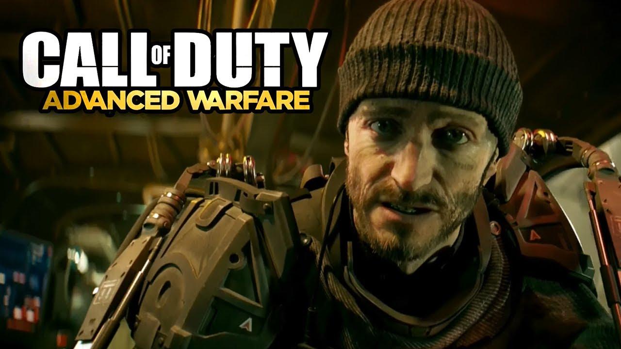 Call of Duty-Advanced Warfare: Gideon gets taken. - YouTube