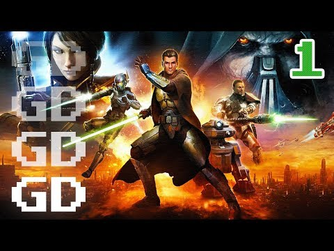 Star Wars The Old Republic Jedi Knight Gameplay Part 1 – Intro – SWTOR Let's Play Series