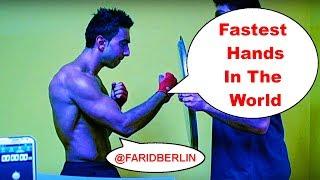 Fastest Hands in the World | Human machine gun PUNCH!