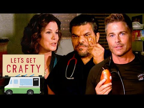 Let's Get Crafty: On the Set of 'Code Black' with Rob Lowe, Luis Guzman, and Marcia Gay Harden!