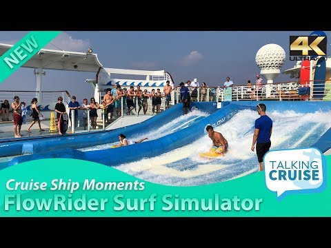 Cruise Ship Moments: FlowRider on Royal Caribbean