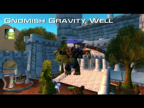 WoW Fun Items - Gnomish Gravity Well | Engineering