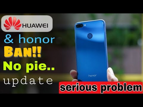 Google Play Store banned form Huawei and Honor device| No