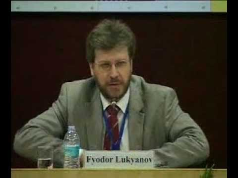 """Mr. Fyodor Lukyanov: Russia and """"Arab spring"""": What's at Stake?"""