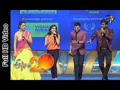 Hemachandra,Sravana Bhargavi Performance - Super Machi Song in Tenali ETV @ 20 Celebrations