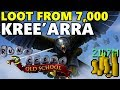 OSRS Loot From 7,000 Arma (Kree'Arra)