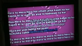 Sona Kitna Sona Hai - Hero no. 1 (Rajat's Karaoke version)