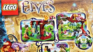 Farran And The Crystal Hollow / Farran I Dziupla Z Kryształem - 41076 - Lego Elves / Lego Elfy