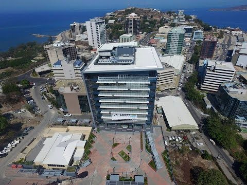 Modern Port Moresby as seen in 2018
