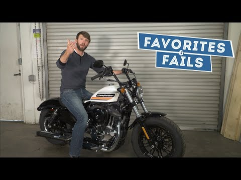 2018 Harley-Davidson Sportster Forty-Eight Special - Favorites & Fails