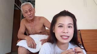 Kakek dan cucu gokil