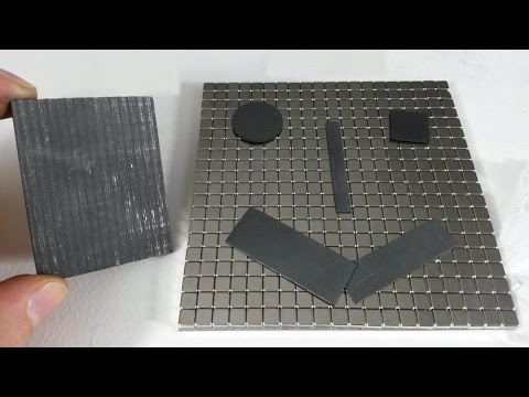 Cut Graphite for Magnetic Levitation Experiments