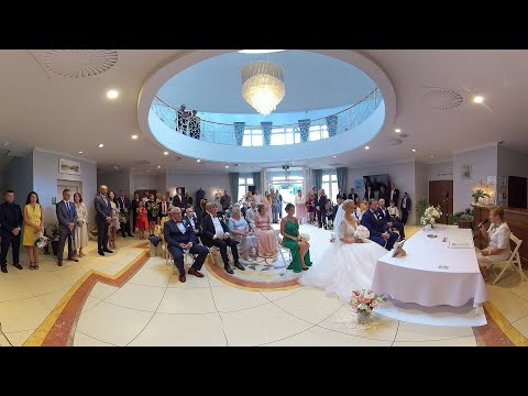 Asia and Marcin - 360 Wedding ceremony in Poland. Part II.