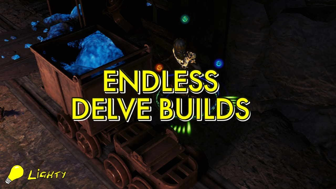 Endless Delve Builds Tips Tricks Youtube