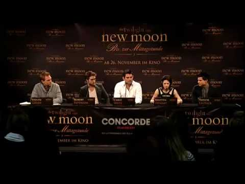Twilight NEW MOON premiere and media conference