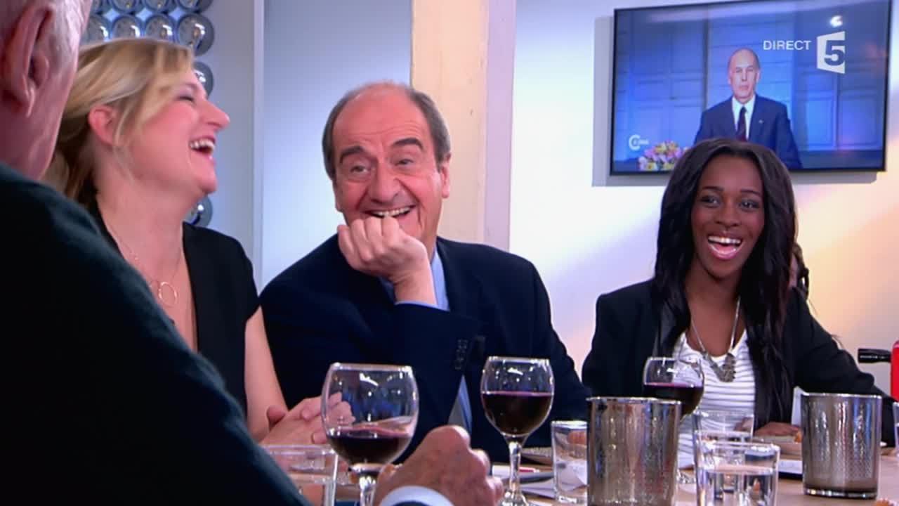 """Giscard explique son """"Au revoir"""" - C à vous - 16/10/2014 ..."""
