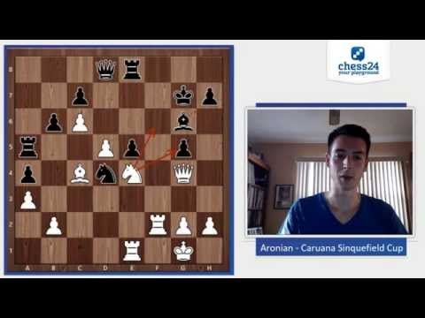 Aronian - Caruana Sinquefield Cup 2015 | Chess Game Analysis
