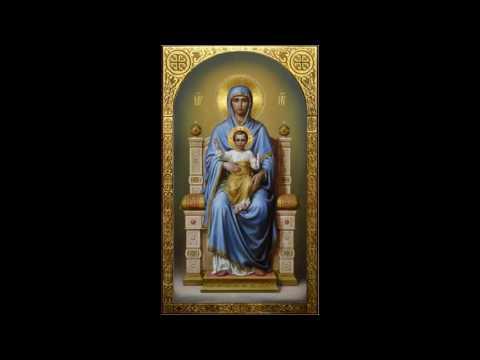 Видео Молитва богородице царица моя преблагая надежда
