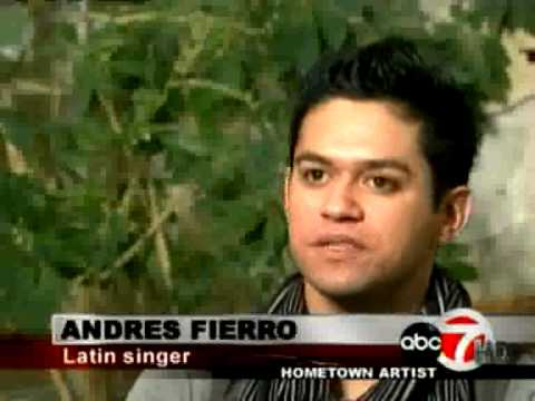 Andres Fierro ABC Interview after Exa Concert