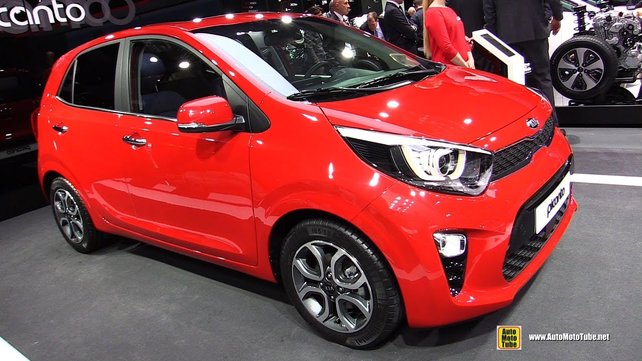 2017 KIA PIcanto - Exterior and Interior Walkaround - Debut at 2017 ...