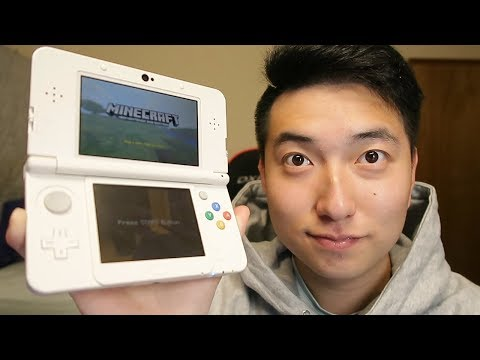 MINECRAFT 3DS EDITION GAMEPLAY!