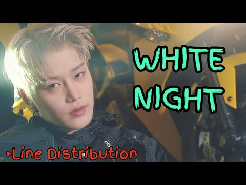 NCT 127 - WHITE NIGHT (Line Distribution)