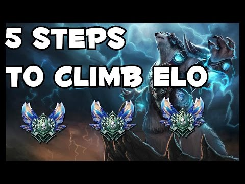 5 Steps To Get Out of Bronze and Silver in League of Legends! (Parody)