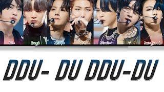 How Would BTS sing DDU-DU DDU-DU' BY BLACKPINK (FANMADE)