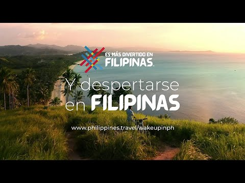 Wake Up in the Philippines | Philippines Tourism Ad (Spanish Translation)